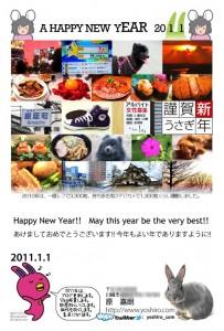 2011年賀状画像